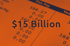 $15 billion total payrolls processed across the group